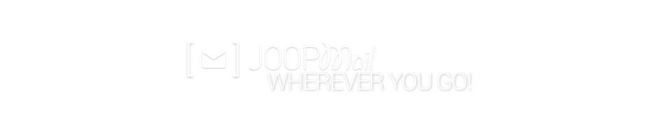 JOOPmail Hosted Exchange