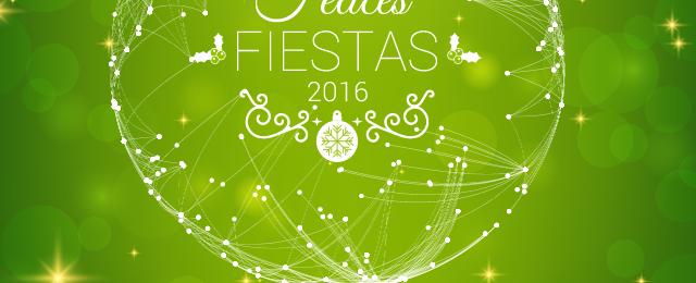 ¡Felices Fiestas ;-)!