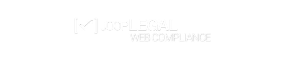 JOOPbox Legal Web Compliance