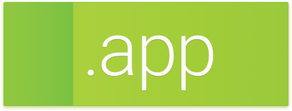 Dominios .APP:  para tus aplicaciones para smartphones, tablets y PC