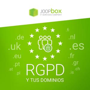 RGPD y tus dominios