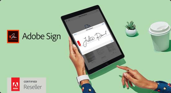 Adobe Sign te ayuda a firmar tus documentos desde casa